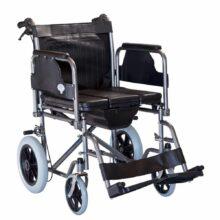 Αναπηρικό αμαξίδιο με μεσαίους τροχούς με δοχείο 0807985-0