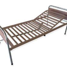 Νοσοκομειακό κρεβάτι μεταλλικό μονόσπαστο-596