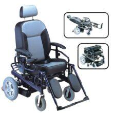 Ηλεκτροκίνητο Αναπηρικό Αμαξίδιο Ενισχυμένο με ανάκλιση 0809242-0