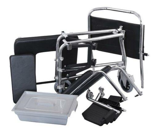 Αναπηρικό αμαξίδιο (τουαλέτα) πτυσσόμενο εσωτερικού χώρου-641