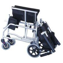Αναπηρικό αμαξίδιο μεταφοράς αλουμινίου πτυσσόμενο με τσάντα 0808377-644