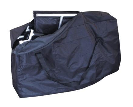 Αναπηρικό αμαξίδιο μεταφοράς αλουμινίου πτυσσόμενο με τσάντα 0808377-645