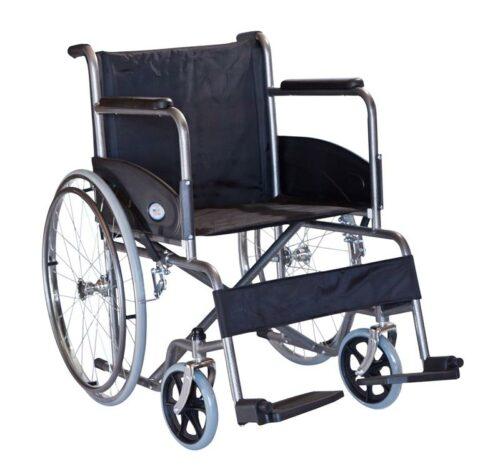 Αναπηρικό αμαξίδιο με μεγάλους πίσω τροχούς και μικρές εξωτερικές διαστάσεις-0