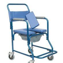 Αναπηρικό αμαξίδιο (τουαλέτα) αδιάβροχο για λούσιμο-0
