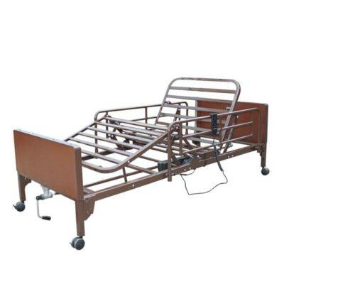 Νοσοκομειακό κρεβάτι ημι-ηλεκτροκίνητο πολύσπαστο-0