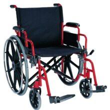 Αναπηρικό αμαξίδιο Βαρέως τύπου ενισχυμένο εως 182 κιλά