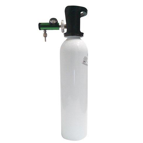 Φιάλη οξυγόνου με ροόμετρο 16 λίτρων