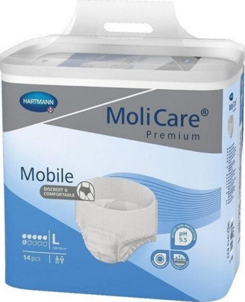 Πάνες σλιπ ακράτειας ημέρας Hartmann MoliCare Premium Mobile (L) 14 τμχ