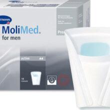 Επιθέματα ελαφράς ανδρικής ακράτειας Molimed Premium Active 14 τμχ-0
