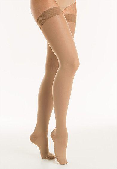 Θεραπευτικές κάλτσες ριζομηρίου διαβαθμισμένης συμπίεσης Class ΙI RELAXSAN Soft (κλειστά δάχτυλα)-0