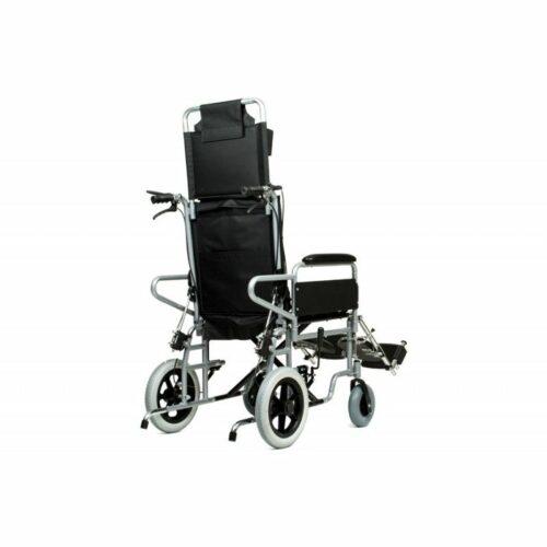 Αναπηρικό αμαξίδιο Reclining Transit (ανακλινώμενο) μεσαίοι τροχοί-1105