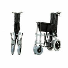 Αναπηρικό αμαξίδιο Reclining Transit (ανακλινώμενο) μεσαίοι τροχοί-1104