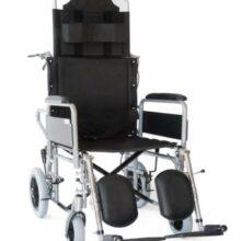 Αναπηρικό αμαξίδιο Reclining Transit (ανακλινώμενο) μεσαίοι τροχοί-0