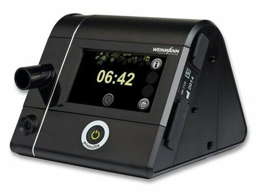 Η μοναδικήBiPAP ST (με ρύθμιση αριθμού αναπνοών ανα λεπτό) με μεγάλη έγχρωμη οθόνη αφής.