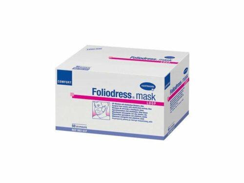 Μάσκες χειρουργείου Hartmann Foliodress loop με λάστιχο-0