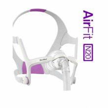 Ρινική μάσκα AirFit N20 for Her ResMed για CPAP & BIPAP