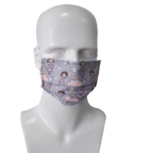 Μάσκα Παιδική Υφασμάτινη (σχέδιο πριγκίπισσες)