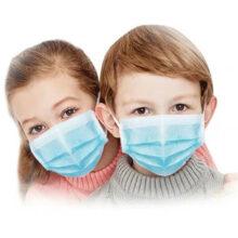Παιδικές μάσκες μιας χρήσης 3-ply 30τμχ EN14683 TYPE IIr