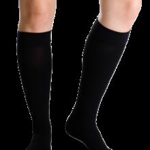 Θεραπευτική κάλτσα κάτω γόνατος Varisan Top Class I (ανοιχτά δάχτυλα) μαύρο normal