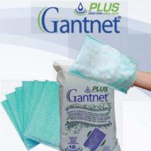Γάντια καθαρισμού σώματος GANTNET PLUS (12 τεμάχια)
