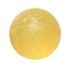 Μπαλάκι εξάσκησης Antistress κίτρινο 1x μαλακό Cando