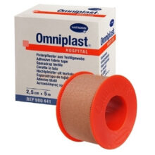 Omniplast ταινίες στερέωσης από ύφασμα 2,5cmx5m
